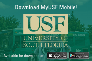 Use MyUSF Mobile to access your course details, contact information, find your way across campus and more.